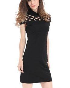 Black dress - MillennialShoppe.com