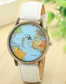 Globe Map Watch