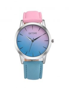 Gradient Color Women Watch